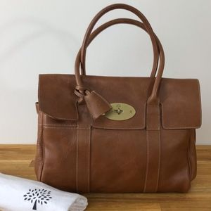 MULBERRY Bayswater HH5988/342G110 oak leather tote